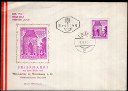 Österreich - 1960 - Österreichische Post - Ersttagbrief - A1RR2 - FDC