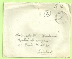 """Brief Stempel TERVUREN Op 19/1/46 , Verzonden """" Ecole D'Infanterie Tervuren"""" (B9193) - Posta Militare"""