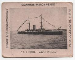Carte Cigarettes Cigarros  Veado Brezil Chromo Croiseur Anglais - Other