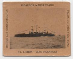 Carte Cigarettes Cigarros  Veado Brezil Chromo Croiseur Hollandais - Other