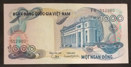 South Viet Nam Vietnam 1000 1,000 Dong UNC Banknote Note 1971 - Pick # 29 / 02 Photos - Viêt-Nam