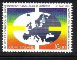 FINNLAND MI-NR. 1166 POSTFRISCH(MINT) MITLÄUFER 1992 KSZE - European Ideas