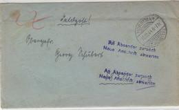 Feldpost Aus HORSTMAR 16.10.44 An Nr.58716 Lazarett 667 / In Rückw.Laz.verl. Und Brief Ging An Abs. Zurück - Mit Inhalt - Covers & Documents