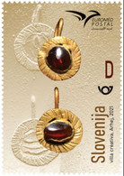 SLOVENIA 2021,NEW 12.07,EUROMED POSTAL - Hand-made Jewellery Of The Mediterranean,MNH - Slovénie