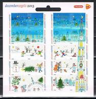 Nederland NVPH 3113-32 V3113-32b Vel Decemberzegels Kruidvat Logo 2013 Postfris MNH Netherlands Christmas Stamps - Unused Stamps