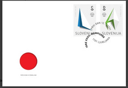 SLOVENIA 2021,NEW 12.07.,OLYMPIC GAMES TOKYO,FDC - Slovenia
