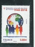 FRANCE 2018 DECLARATION DES DROITS DE L HOMME 1948- 2018 YT 5290 NEUF - Nuevos