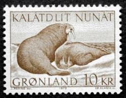 Greenland 1973 Walrusses Minr.83  MNH (**)  ( Lot L 915 ) - Unused Stamps
