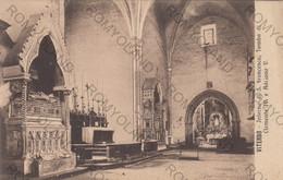 CARTOLINA  VITERBO,LAZIO,INTERNO DI S.FRANCESCO,TOMBA DI CLEMENTE IV E ADRIANO V,STORIA,RELIGIONE,NON VIAGGIATA - Viterbo
