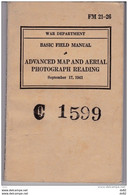 ADVANCED MAP AND AERIAL PHOTOGRAPH READING WW2 (MILITARIA) - English