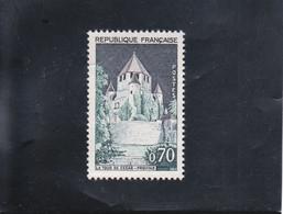 TOUR DE CéSAR-PROVINS NEUF ** N° 1392A YVERT ET TELLIER ( TOIT GRIS ) 1963-65 - Curiosa: 1960-69 Postfris