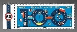 France 2021 - 100 Ans Du Code De La Route ** - Unused Stamps