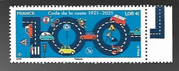 France 2021 - 100 Ans Du Code De La Route ** - Neufs