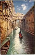 61lp 532 CPA - VENICE - THE BRIDGE OF SICHS - Paintings
