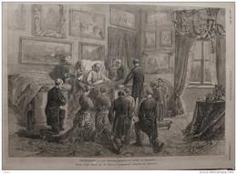 Frohsdorf - Les Derniers Moments Du Comte De Chambord - Page Original - 1883 - Historische Documenten