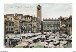 VERONA:  PIAZZA  ERBE  -  FP - Piazze Di Mercato