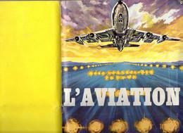 Album Chromo - 101B - L' AVIATION - édité Par Album Americana Munich (tous Avions) état Neuf - Sonstige