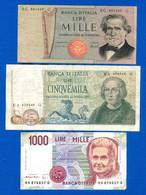 Italie  3  Billets - Sin Clasificación