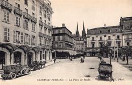 7621 Cpa 63 Clermont Ferrand -la Place De Jaude - Clermont Ferrand