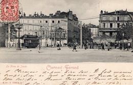 7622 Cpa 63 Clermont Ferrand -la Place De Jaude - Clermont Ferrand