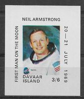 Thème Espace - Davaar Ecosse - Neil Armstrong - Neuf ** Sans Charnière - TB - Europa