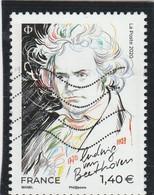 FRANCE 2020 LUDWIG VAN BEETHOVEN OBLITERE YT 5436 - Unused Stamps