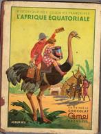 Album Chromo - 063 - L'Afrique Equatoriale, édité Par Chocolat CEMOI, Complet Toutes Images - Other