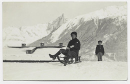 CHAMONIX CARTE PHOTO ADOLPHE COUTTET - Chamonix-Mont-Blanc