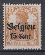 BELGIË - OBP - 1916 - OC 15 - MNH** - [OC1/25] General Gov.