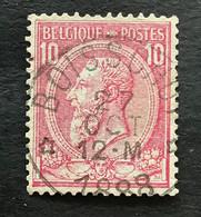 Leopold II OBP 46 - 10c Gestempeld  RELAIS BOISSCHOT - 1884-1891 Leopold II.