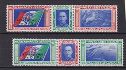 Italia Regno 1933 A51-52 Soprastampa Dini Mnh - Mint/hinged
