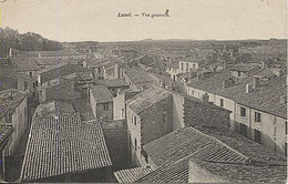 X122161 HERAULT LUNEL VUE GENERALE DES TOITS PAS COURANT VOIRE RARE - Lunel