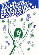 Montbeliard (25) - 11e Salon De La Carte Postale - Sin Clasificación