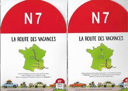 France 2021 - Collectors  Nationale 7 - Paris - Lyon  Et  Lyon - Menton - (16 Timbres -Lettre Verte) ** (sous Blister) - Collectors