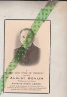 August Bovijn-Lemer, Kruishoutem 1872, Ieper 1956. Foto - Avvisi Di Necrologio