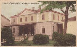 CARMAGNOLA-TORINO-STAZIONE FERROVIARIA-CARTOLINA VIAGGIATA  IL 28-12-1939 - Other
