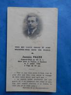 FAIRE PART DECES MORTUAIRE   1940 MILITAIRE WW2 CAPORAL CHEF CAMBRAI - Documenti