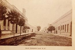 Cartolina - Argentina - Junin ( Buenos Aires ) - Calle Rivadavia - 1900 Ca. - Unclassified
