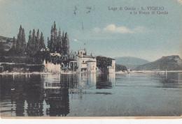 SAN VIGILIO GARDA-VERONA-LAGO DI GARDA-CARTOLINA VIAGGIATA ANNO 8-1-1936 - Verona