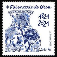 France 2021 - Faïencerie De Gien ** - Neufs