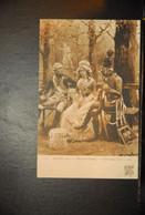 CP, ARTS, Peinture, SALON 1905, TABLEAU DE MAURICE ORANGE / Entre Deux Feux - Malerei & Gemälde