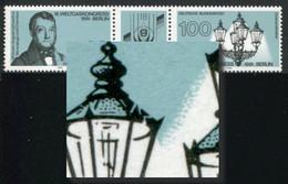 1538I Weltgaskongreß 100 Pf Mit PLF I Gebrochene Laterne, Feld 2, ** - Engraving Errors