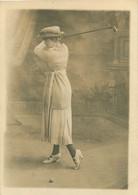050721B - CARTE PHOTO GOLF Golfeuse Swing Femme Club - Golf