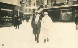 050721B - CARTE PHOTO SUISSE GRISONS Félix Auditor - ST MORITZ - SAINT MORTIZ 1923 - GR Graubünden
