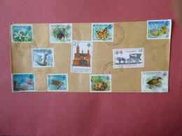 SEYCHELLES SG Postmark  GRAND ANSE PRASLIN 1989 - Seychelles (1976-...)
