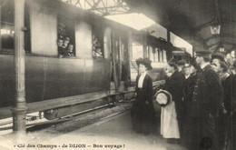 21 - Côte-d'Or - Dijon - Gare - Train - Clé Des Champs - Animée - F 0006 - Dijon