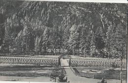 """Cartolina - Postcard /  Non Viaggiata - Unsent /  Cimitero Militare Italiano - """" Eroi Del Cadore """" - Fiammes. - Cimetières Militaires"""