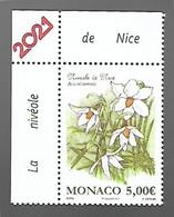 Monaco 2021 - Yv N° 3265 ** - Nivéole De Nice - Neufs