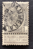 Rijkswapen OBP 53 - 1c Gestempeld  EC GAMMERAGES - 1893-1907 Coat Of Arms