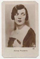 Carte Cigarettes Sociedade Colonial De Tabacos Lourenço Marques Chromo Actrice Alma Rubens - Other